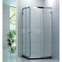 浴室推拉门加盟 卫生间隔断门招商 沐浴房代工 钢化玻璃平安