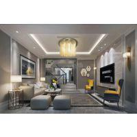 巴南专业的别墅装修公司|宗申金蓝湾现代风格设计方案效果图