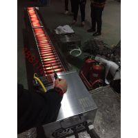 蓝天博科黑金直管商用金刚棒电烤炉大功率环保无烟电烤箱