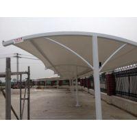 增城膜结构车棚 从化风景区户外汽车棚 电动车停车棚