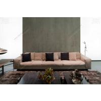 意大利HENGE原装进口现代客厅沙发实木置物架家具品牌