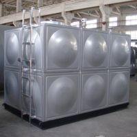 厂家直销不锈钢生活水箱 循环运行 焊接拼装式供水设备