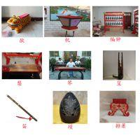 孔庙文庙祭祀礼器镫、豆、簋、簠、竹笾文庙乐器编钟、编磬、建鼓文庙祭器