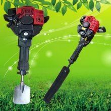 断根起苗机厂家 锰钢材质锯齿式起树机 合金材质链条挖树机