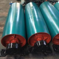 河北传动滚筒厂家 DTII03A4101 矿山带式输送机鼓形滚筒