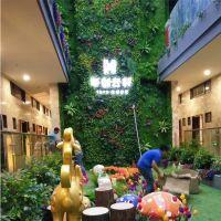紫萱仿真植物墙花草墙 花墙草墙绿色植物墙厂家直销欢迎合作