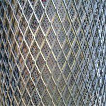 体育场所围网 铁板拉伸网 金属菱形网