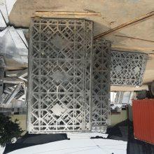 江门外墙铝网板装潢 菱形铝网板厂家直销