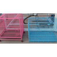 安平专业厂家 唐山全自动框架宠物笼生产线 相框宠物笼排焊机 狗笼焊网机价格