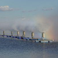 大连浓盐水池蒸发提取盐分机械雾化蒸发器 北华专利生产