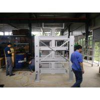 江苏伸缩式管材存放架 钢管货架 管材存储架 新型悬臂式货架设计