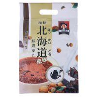 QUAKER 桂格 北海道鲜奶风味麦片(榛果可可味)336g(28g*12)袋