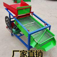 粮食除尘筛选机 2层小型粮食振动筛筛选机