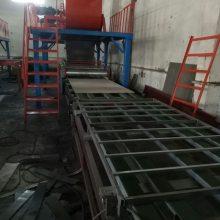 全自动轻匀质板生产线设备 节能匀质外墙防火保温板生产线设备