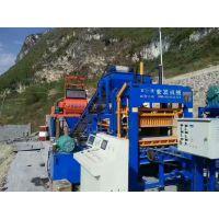 山东宏发供应路砖彩砖机 QT4-15砌块成型机 制砖设备 免烧砖机