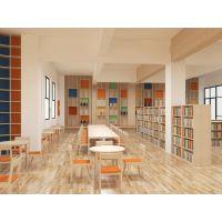 大型中型小型图书馆设计装修 阅览室文化装饰设计