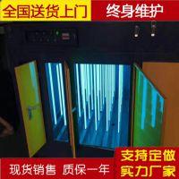 光氧催化废气净化器 UV光氧催化废气净化设备报价 鸿鑫专业安装