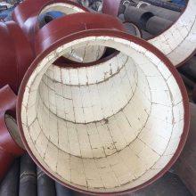 送粉管道陶瓷贴片弯头无机胶性能耐腐蚀耐磨批发销售