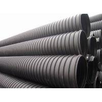 成都铭嘉尚HDPE钢带波纹管 塑钢缠绕管 DN300*SN8 性能稳定 质量保证