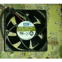 原装AVC DATB0625B2U 12V 0.60A 6CM 4线服务器机箱散热风扇