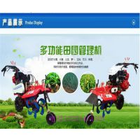 农田地快速耕作机 开沟施肥旋耕机 小型手扶耕整机