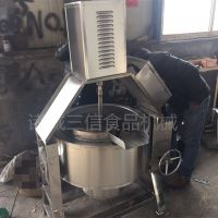 三信SX-J山楂罐头搅拌电加热夹层锅 搅拌电加热夹层锅厂家