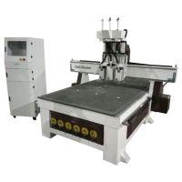 三工序开料机-三头自动换刀板式家具开料机