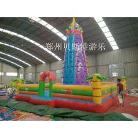 黑龙江大庆儿童充气城堡夏日促销活动