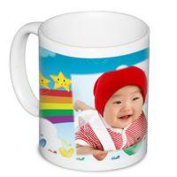 白杯定制照片 个性创意生日礼物 热转印杯子不变色印logo