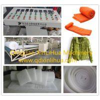 服装保温棉被无胶棉生产线