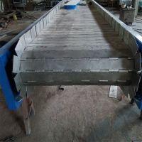 强盛制作碳钢链板式输送机 挡板式链板输送机 按客户要求定做 欢迎洽谈