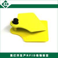 rfid超高频羊耳标 一体注塑牛耳标 tpu动物耳标标签定制