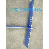 (东莞正美厂家)中山三角防静电实心刀卡 留手指位发泡隔板 pp塑料挡板