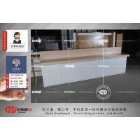 小米之家灯箱展示柜价格小米体验店全套展台定做厂家