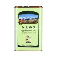 供应4L亚麻籽油铁罐 马口铁食品罐包装设计 深圳包装制品厂