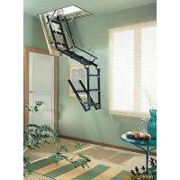 体验新产品伸缩楼梯 占用空间小的伸缩楼梯 免费安装