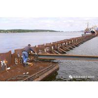 打拔河北拉森钢板桩价格是多少,需要注意什么呢?
