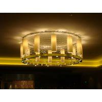 非标定制会所 餐厅中式云石LED灯具
