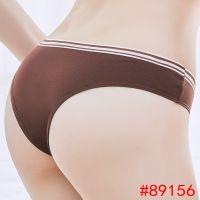 性感沙滩比基尼 外贸全棉女士内裤 纯素色女式三角裤批发 内衣内裤订做