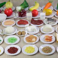 膳食宝塔食物模型  教学医学展示用途 40种健康平衡营养膳食模型