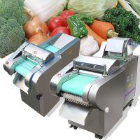 不锈钢型莴苣切片机 启航牌食堂商用多功能切菜机 不锈钢豆角切断机