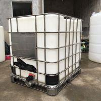 华社供应中山全新吨桶 1000升塑料桶 1000kg白色塑料化工桶 包装桶