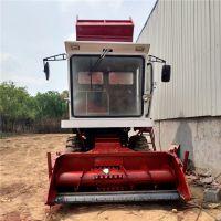 玉米粉碎青储机 自走式秸秆青储收割机