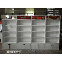 济南厂家定制烤漆超市烟柜 小卖部木质烟玻璃柜 商场酒高柜壁柜
