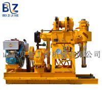 热销履带式岩心钻机 地质打井设备 200米内探矿取心