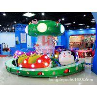 热销的设备瓢虫乐园新型的设备亮丽的色彩炫目的灯光 好玩的旋转小火车