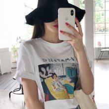 哪里有的女装货源批发 广州厂家清货大量男女装T恤便宜批发