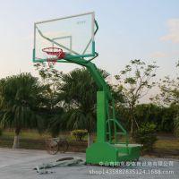 阳春仿液压篮球架批发 箱式移动篮球架 圆管移动篮球架
