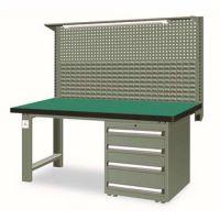 重型工作台带四抽柜(台面厚50mm带挂板)SFH-1504G|SFH-1804G|SFH-2104G
