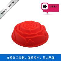 东莞厂家供应新款硅胶蛋糕烤盘 耐高温蛋糕模 创意硅胶烘培用品厨具
